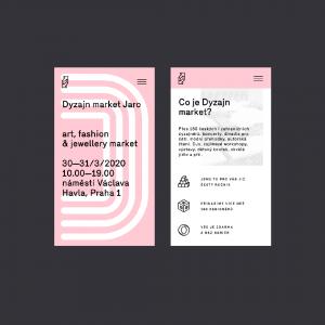 Dyzajn market mobile