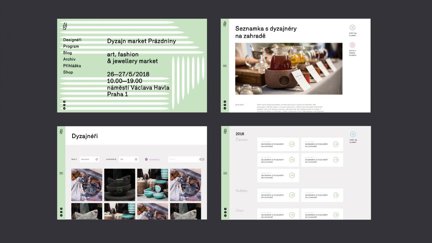 Dyzajn market subpages
