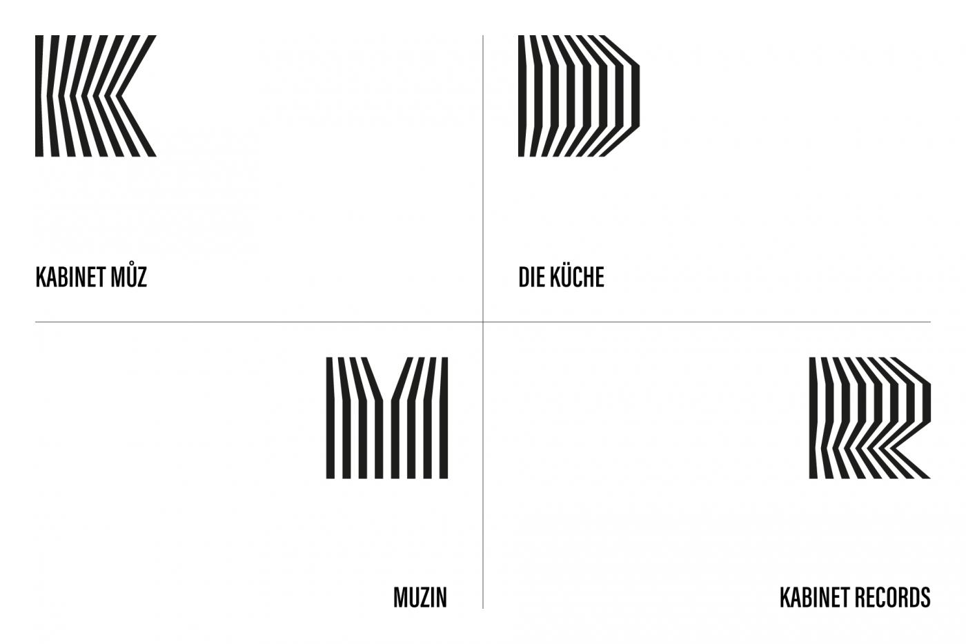 Kabinet múz – logo family