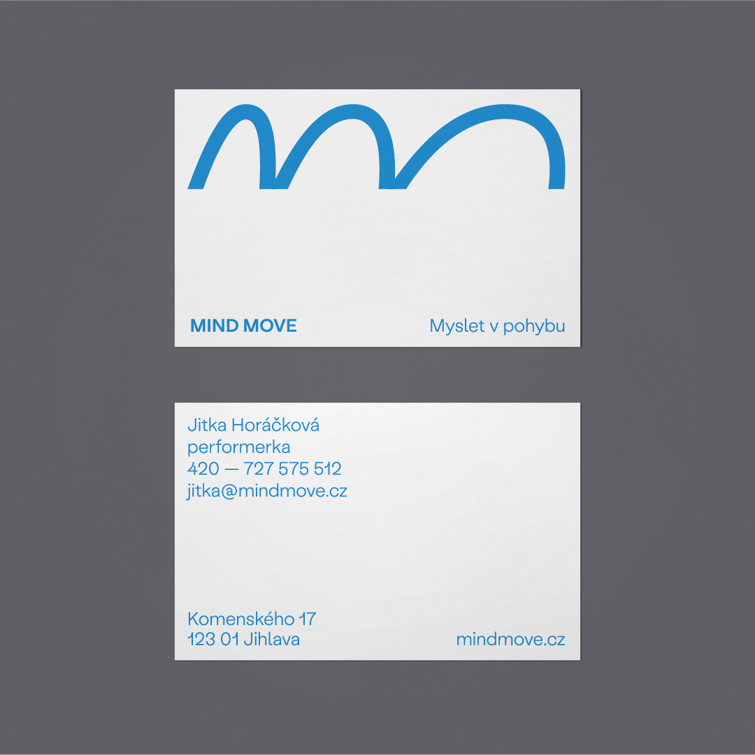 Mind move business card