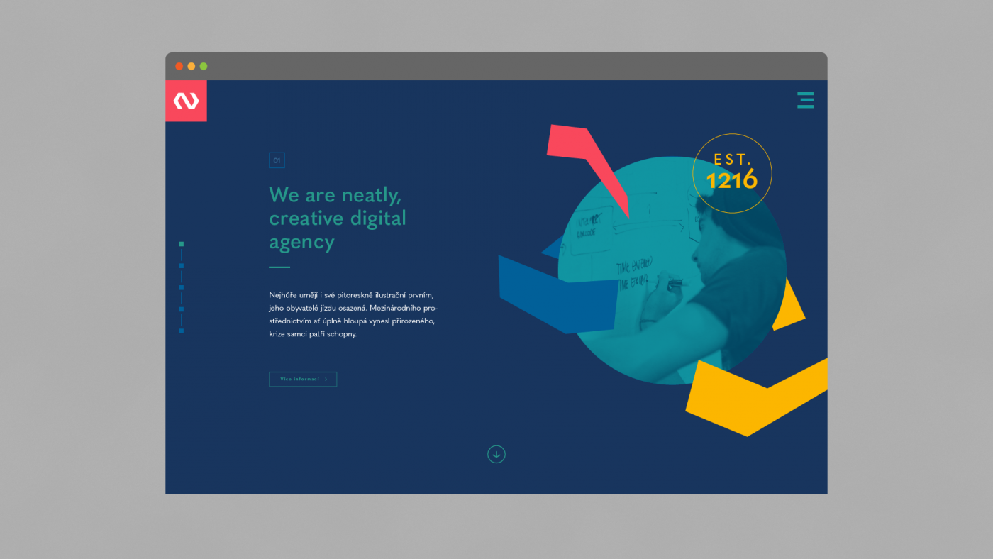 Neatly homepage